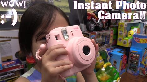 Kids' Instant Photo Camera! An Easy to Use Camera for Kids
