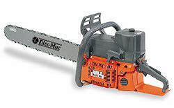 Chainsaw Oleo-Mac 999F specification and features - Gas