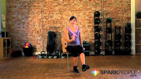 Seated Cardio Workout: Burn Calories Exercising from a