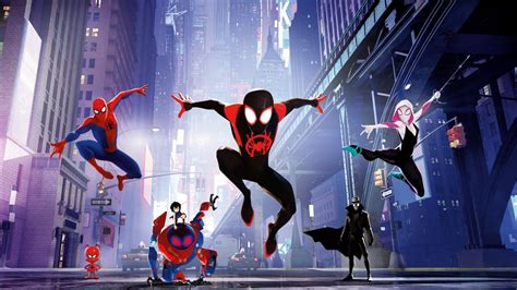 Spider-Man Into the Spider-Verse 4K 8K Wallpapers | HD