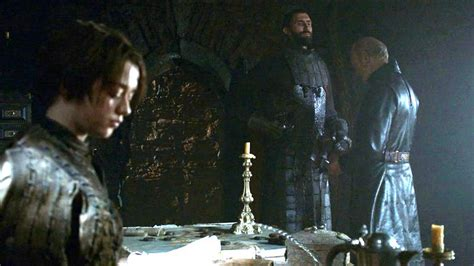 Tywin with Arya and Gregor Clegane - House Lannister Photo