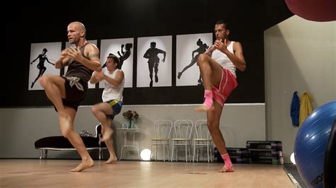Muay Thai Cardio Training 1 with Keven Haas (Fityess) in