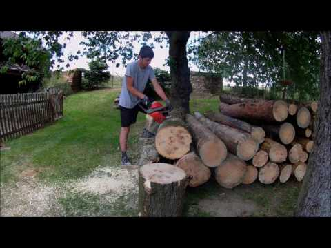 Chainsaw Oleo-Mac 971 specification and features - Gas and