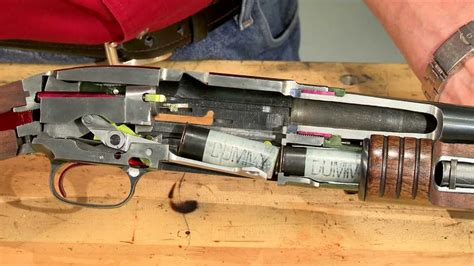 Gunsmithing - How a Winchester Model 12 Works - Cycle of