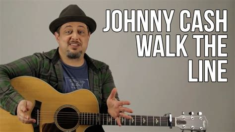 How To Play Johnny Cash - I Walk The Line (Chords and