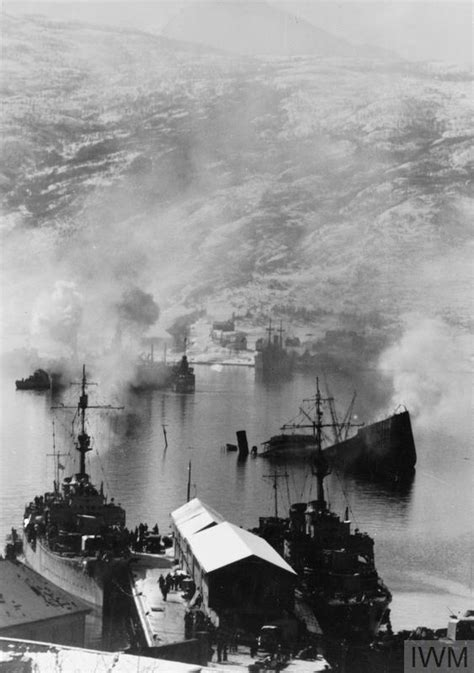 THE FIRST BATTLE OF NARVIK 10 APRIL 1940 (K 4017)