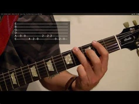 EASY JOHNNY CASH! - I WALK THE LINE - How to Play - Free