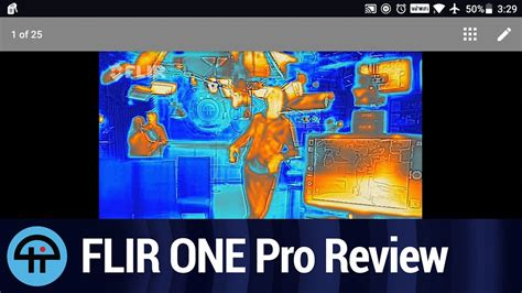 FLIR ONE Pro Thermal Camera Review - YouTube