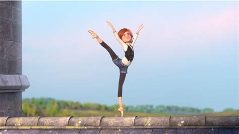 Film review: Ballerina – unremarkable animated feature of