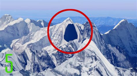 5 Top-Secret Places that are censored on Google Maps