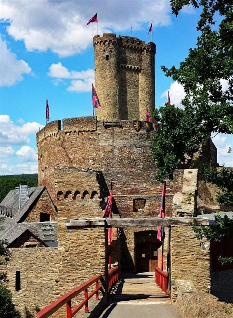 Castles on the Mosel River (Moselle River Valley Castles