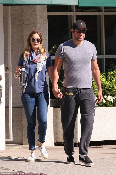 Emily Blunt is on full mommy duty with daughter Hazel