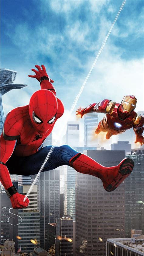 Spider Man Homecoming Iron Man Wallpapers | HD Wallpapers