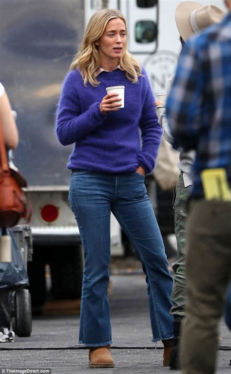 Emily Blunt and John Krasinski shoot A Quiet Place in NY